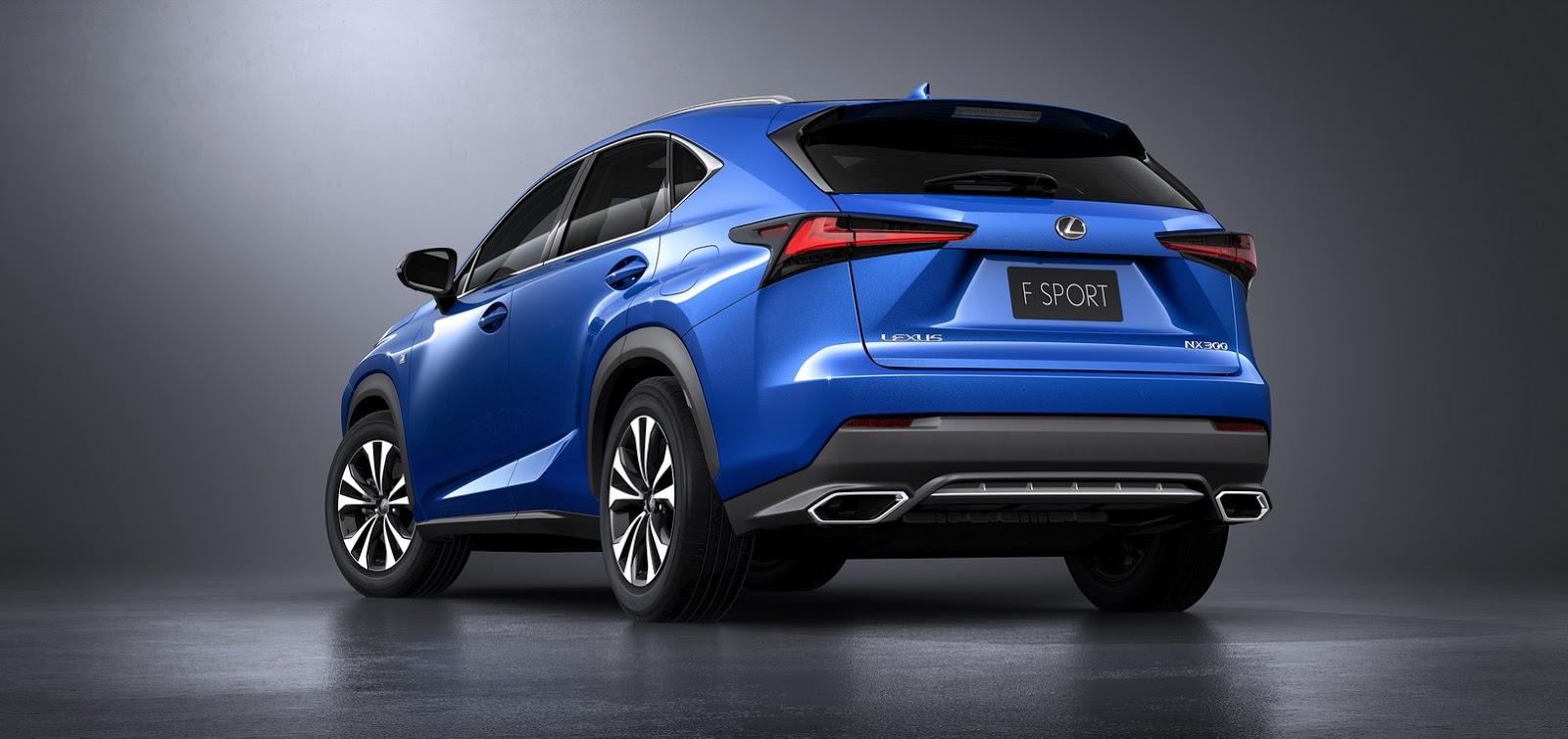 Lexus NX 2018: Pequeños cambios para el SUV híbrido nipón
