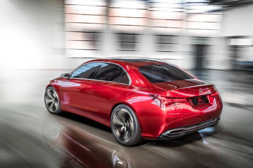 Mercedes Concept A Sedan: ¿Quieres conocer cómo será el diseño de los futuros modelos compactos?