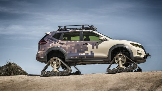 ¿Nissan X-Trail con orugas? Existe y se llama Rogue Trail Warrior Project...