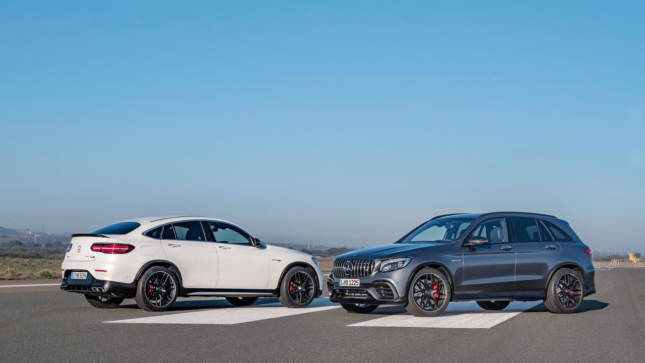 Nuevos Mercedes AMG GLC 63 y GLC 63 Coupé, V8 y 503 caballos