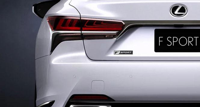 Primer anticipo oficial del Lexus LS 500 F Sport