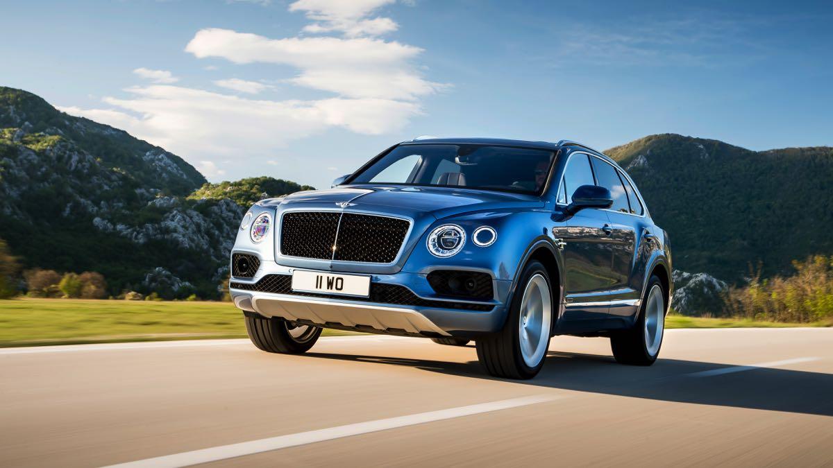 Bentley apunta a una variante más radical y potente del Bentayga