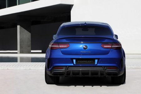 El Mercedes GLE Coupé de TopCar se viste de azul y con una estética más deportiva