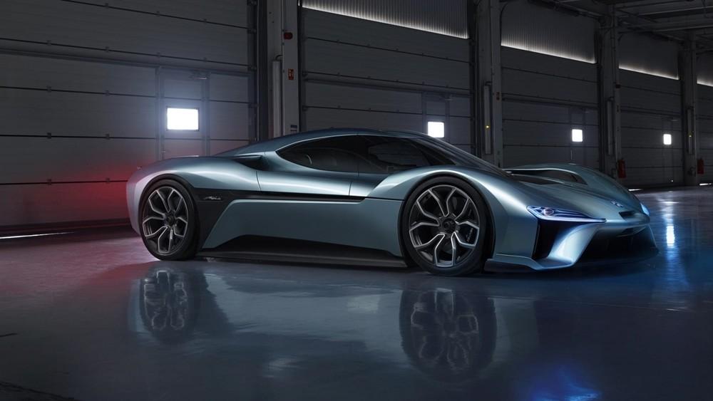 El NIO EP9 EV rompe el tiempo del Lamborghini Huracan Performante en Nürburgring haciendo 6 minutos y 45 segundos