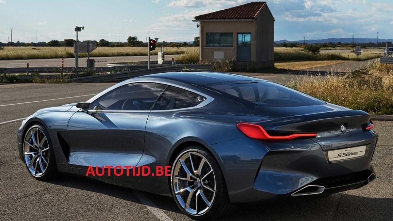 ¡Filtrado! BMW Serie 8 Concept, primeras imágenes oficiales