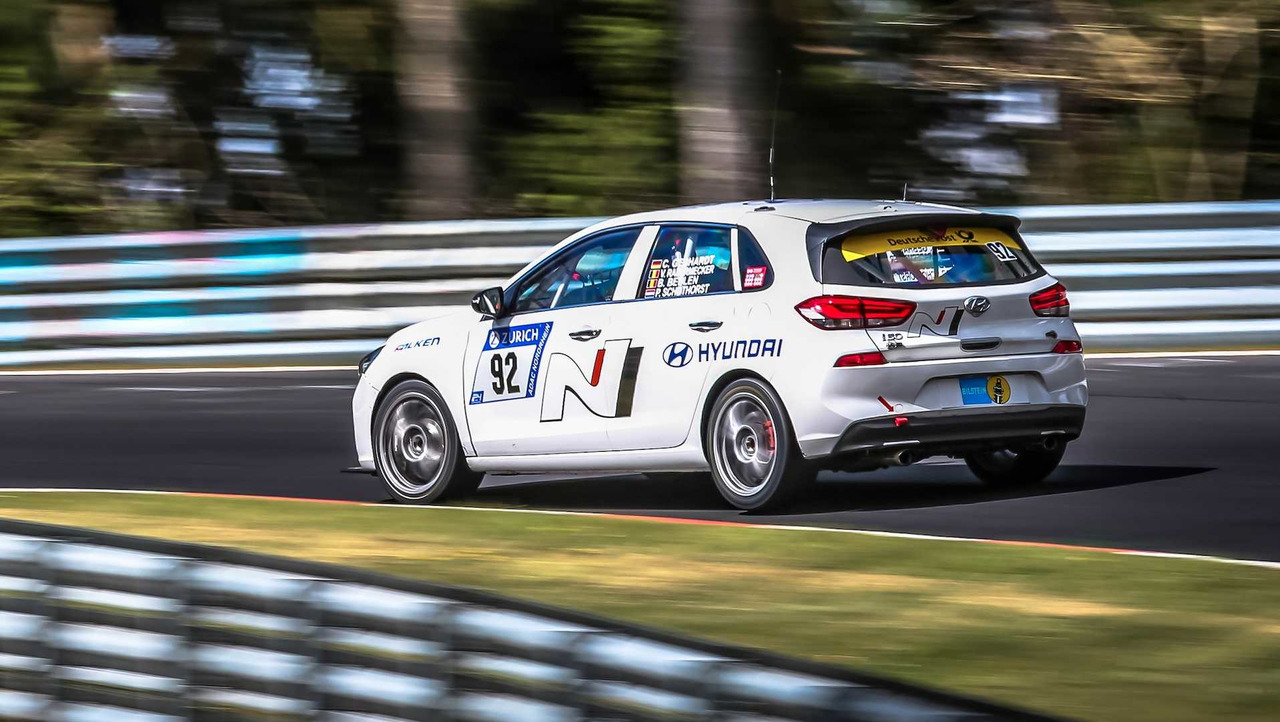 Hyundai llevará dos i30 N a las 24 horas de Nurburgring, primeras imágenes