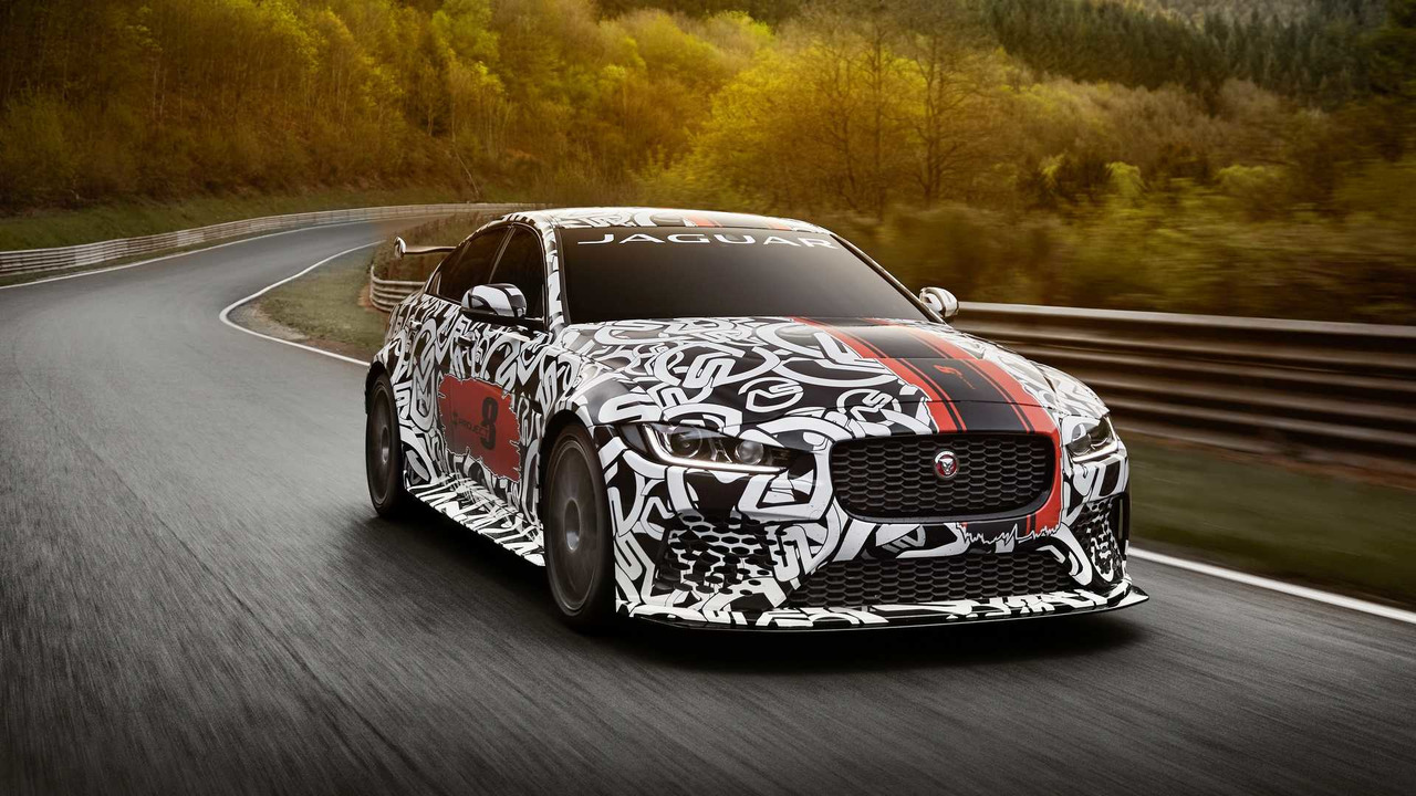 Jaguar XE SV Project 8: 300 unidades y 600 caballos de potencia
