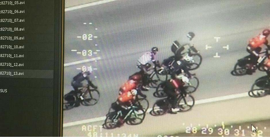 Los Pegasus de la DGT también multan ahora a los ciclistas: ¿Cómo lo hace?
