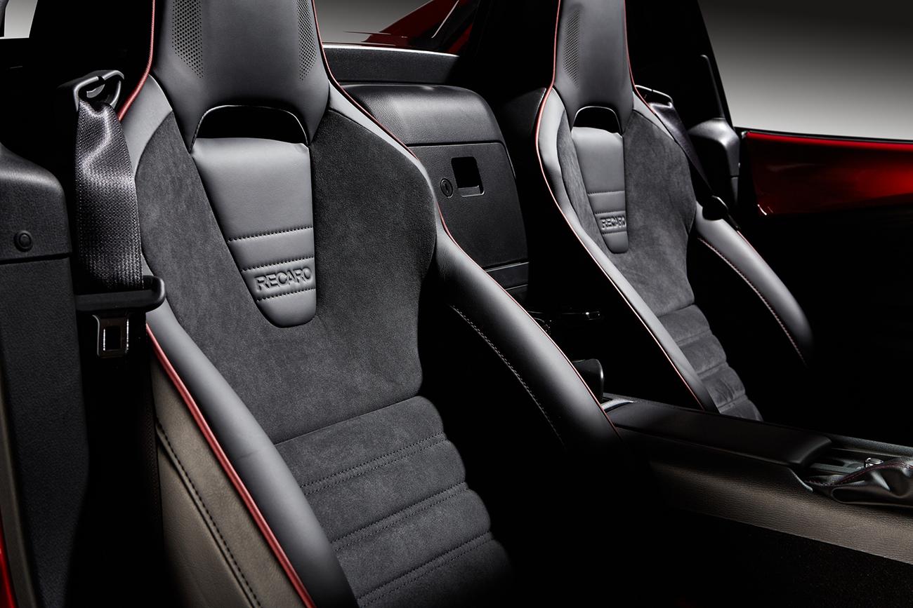 Mazda MX-5 RF Ignition: Con asientos Recaro, suspensión Bilstein y sistema de sonido Bose