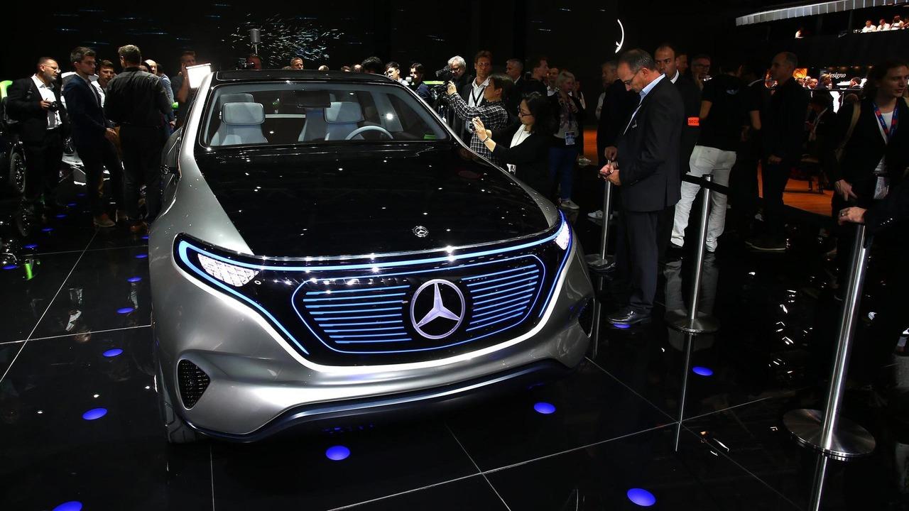 Mercedes presentará el rival del BMW i3 en Fráncfort