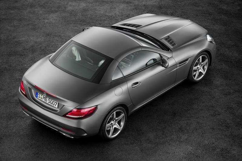 Mercedes SLC 180: La versión más accesible con un 1.6 Turbo de 156 CV, de momento no disponible para España