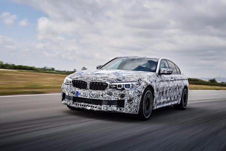 Oficial: nuevo BMW M5, xDrive como estandar y propulsión como opción