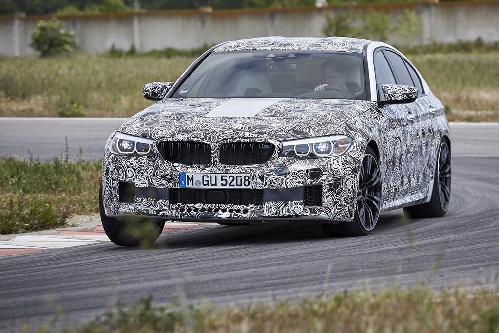"""Así es el nuevo BMW M5, primera """"imagen"""" filtrada"""
