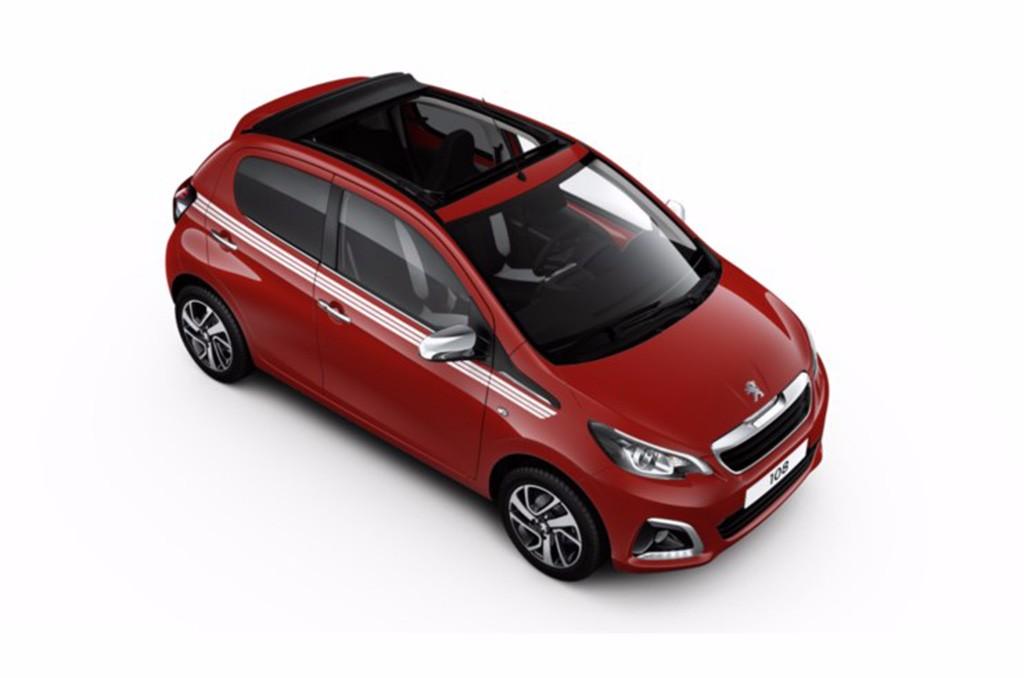 Peugeot 108 Collection: Más color y música para esta serie especial