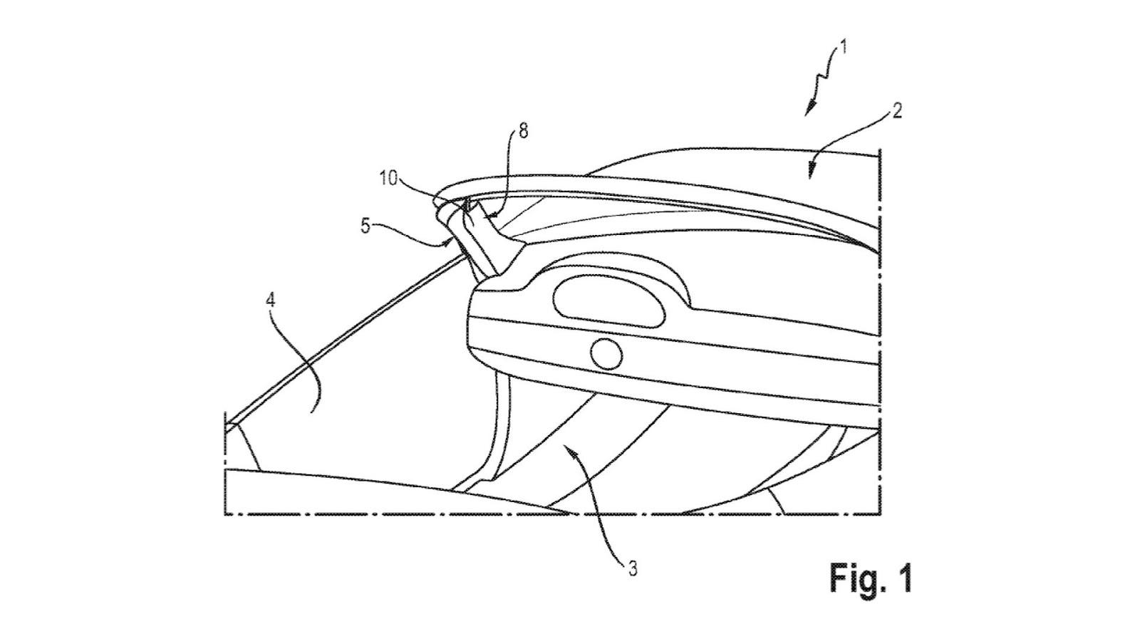 ¿Un airbag para descapotables? Porsche lo ha patentado...