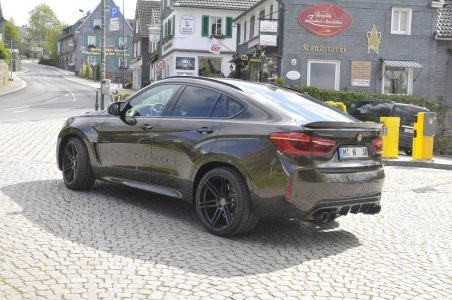 700 CV en el BMW X6 M de la mano de Manhart: ¡125 CV adicionales que dan mucho juego!