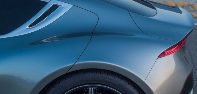 Así es el aspecto del Fisker EMotion, la berlina eléctrica que quiere desbancar al Model S