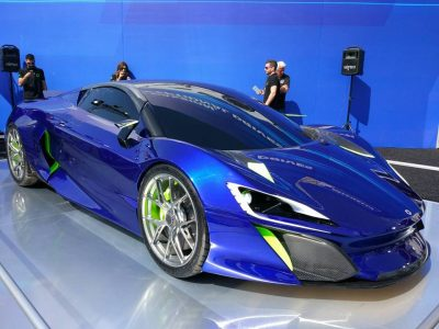 Así es el Bóreas: El superdeportivo híbrido español con 1000 CV de potencia