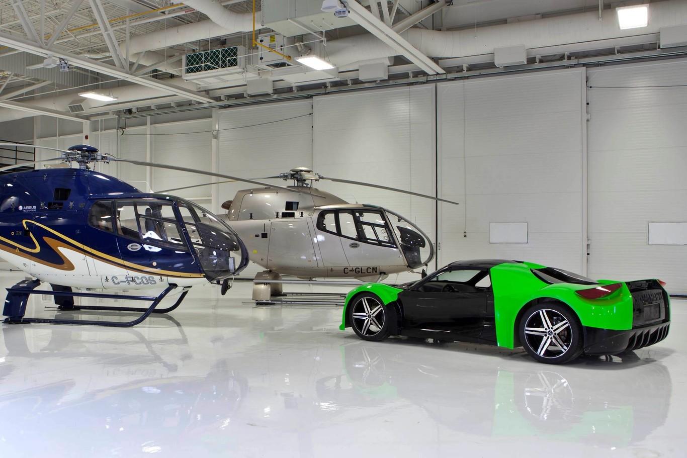 Dubuc Tomahawk 2018: El superdeportivo eléctrico de 800 CV que necesita 2 segundos para alcanzar los 96 km/h
