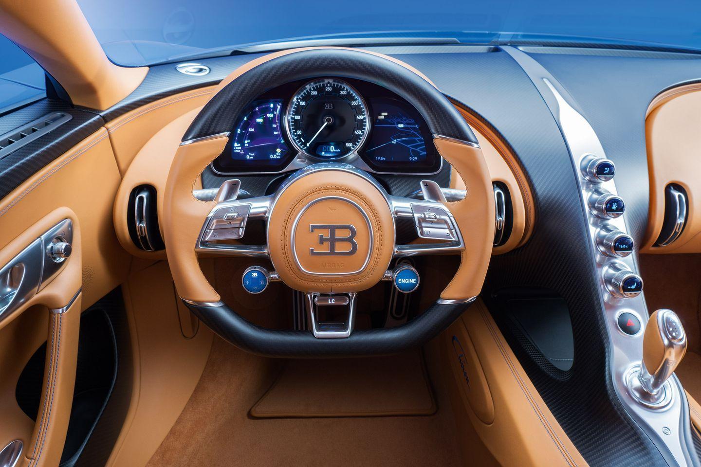 El Bugatti Chiron no alcanzará los 500 kilómetros por hora, al menos de momento. ¿Por qué?