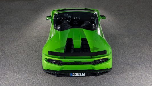 El Lamborghini Huracan Spyder de Novitec recibe un compresor para llegar a los 870 CV y ensancha su carrocería