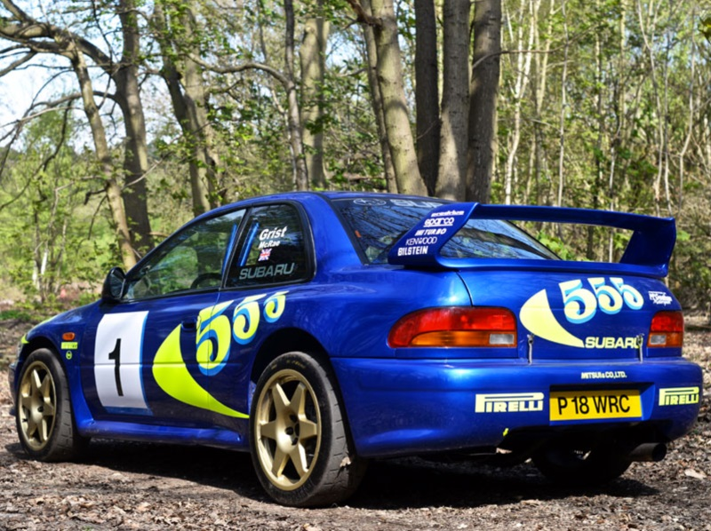 El Subaru Impreza WRC de Colin McRae se convierte en el vehículo más caro de la historia: ¡Más de 260.000 euros han pagado por él!