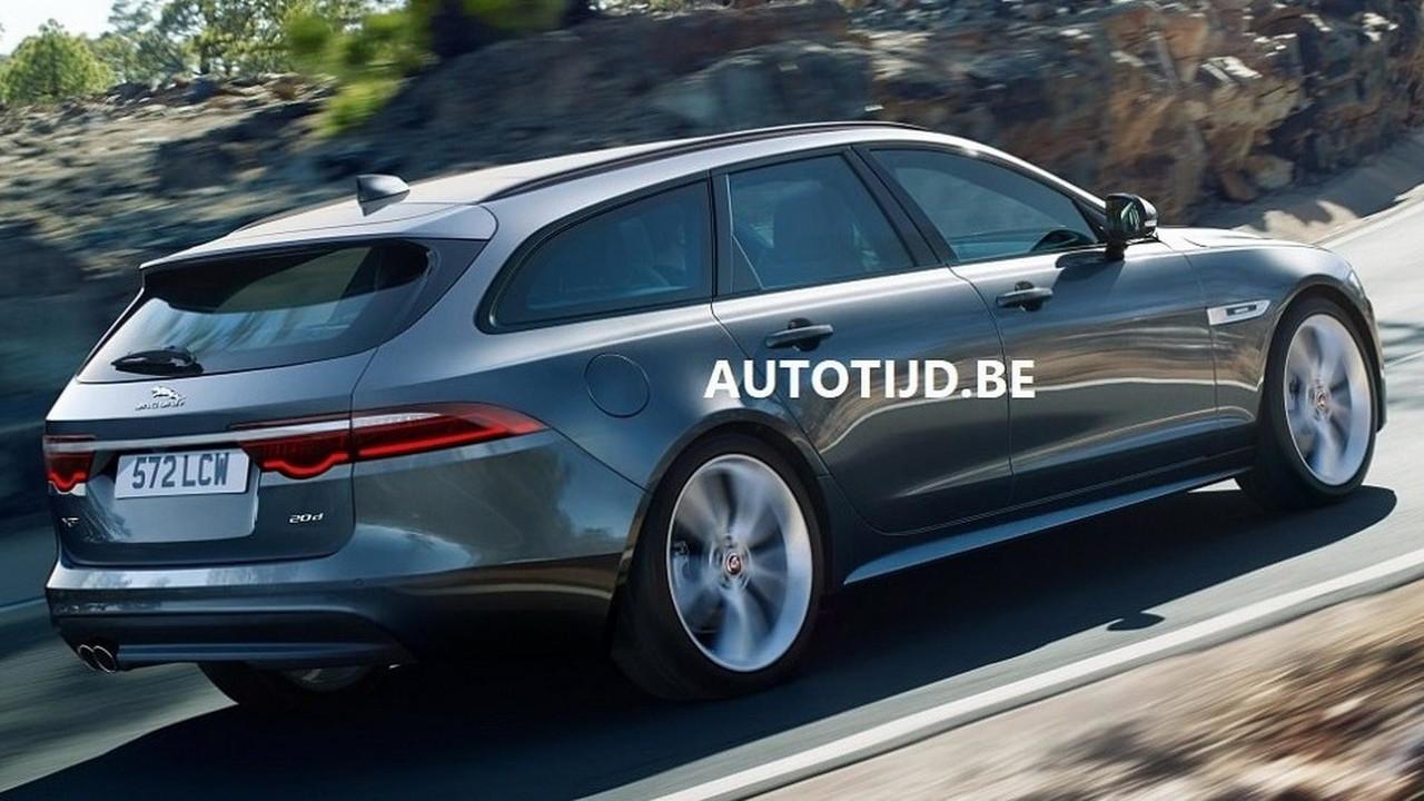Filtrado: nuevo Jaguar XF Sportbrake, llegará al mercado español este verano