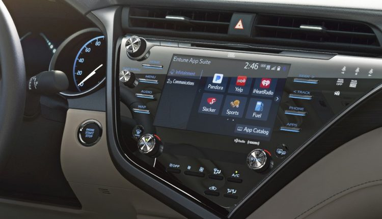 toyota camry 2017 carplay does the 2017 toyota camry have available apple carplay all new 2018. Black Bedroom Furniture Sets. Home Design Ideas