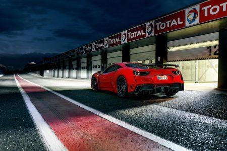 Novitec Rosso N-Largo Ferrari 488: ¡Con 780 CV y un kit aerodinámico exclusivo!