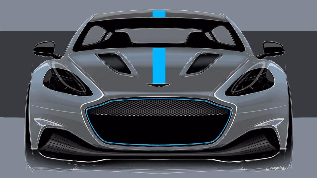 El Aston Martin RapidE llegará el próximo año, ¿estás preparado?