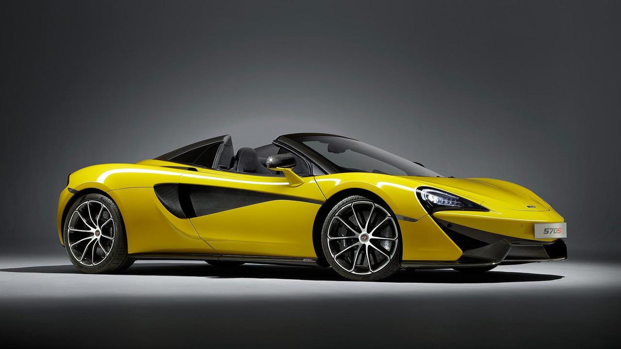 Oficial: McLaren 570S Spider, descapotable y con la misma potencia que el coupé