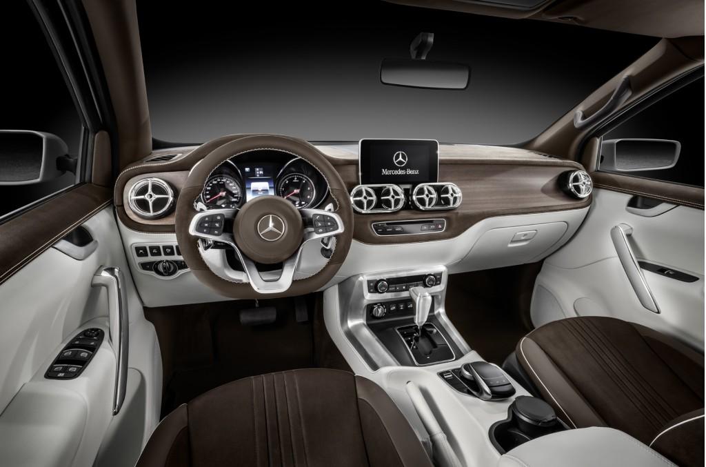 A punto de presentarse: El 18 de Julio conoceremos la pick-up de Mercedes, la Clase X