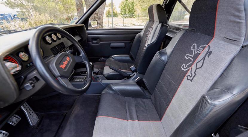 ¡Como nuevo! A subasta un Peugeot 205 T16 con tan sólo 248 kilómetros