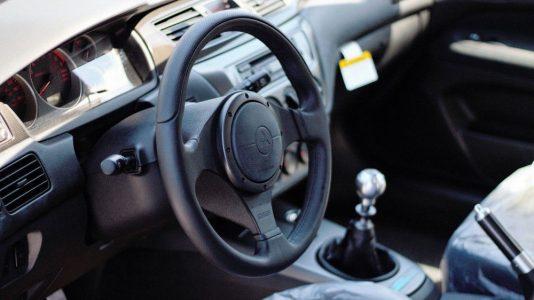 ¿Cuánto estarías dispuesto a pagar por un Mitsubishi Lancer Evo IX MR nuevo? Aquí tienes uno a la venta...