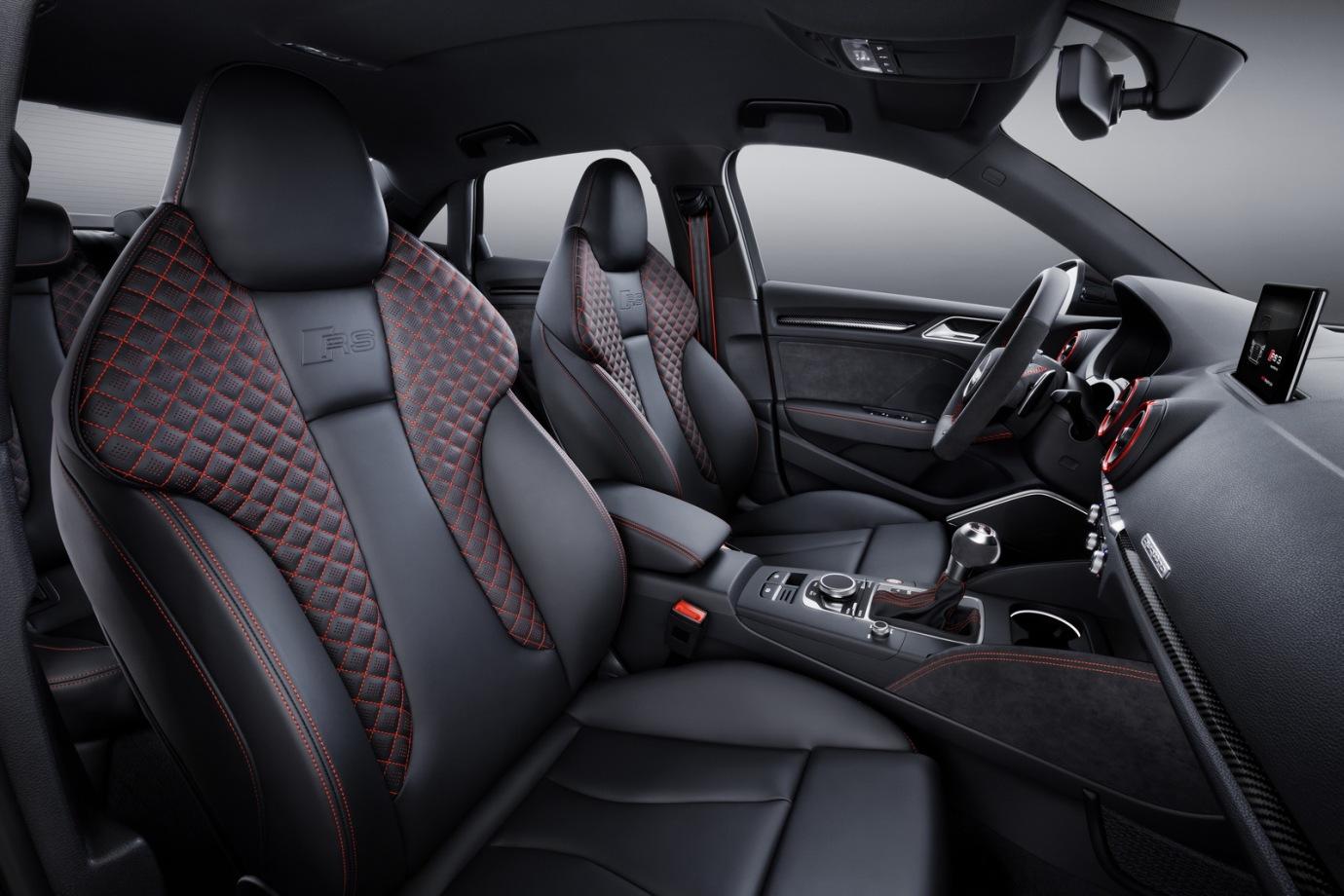 El Audi RS3 Sportback y Sedán 2017 ya están disponibles: Estos son sus precios...
