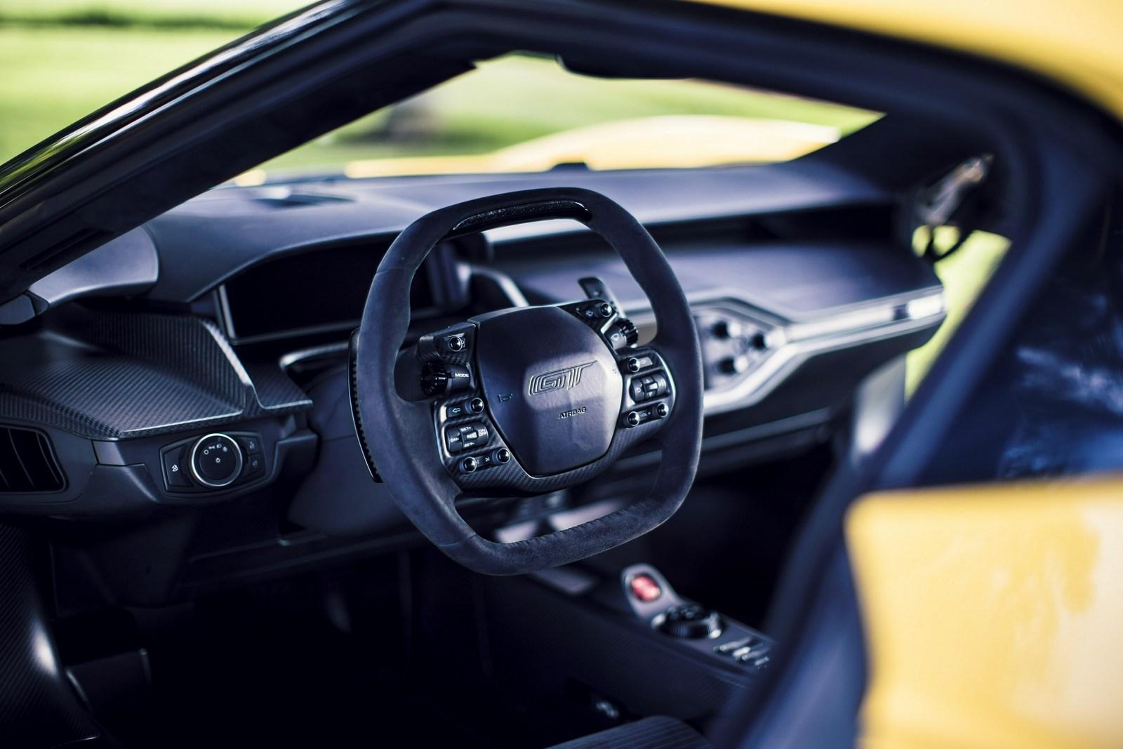 El Ford GT genera 100 GB de datos a la hora a través de sus 50 sensores: Parte del secreto de su éxito...