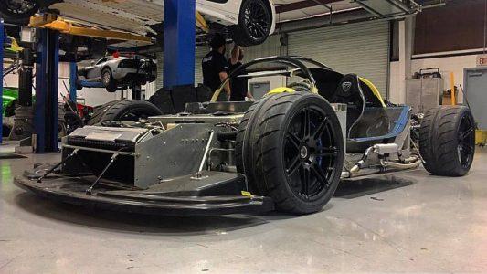 Este Lamborghini Gallardo se ha transformado en un kart y está homologado para ir por la calle