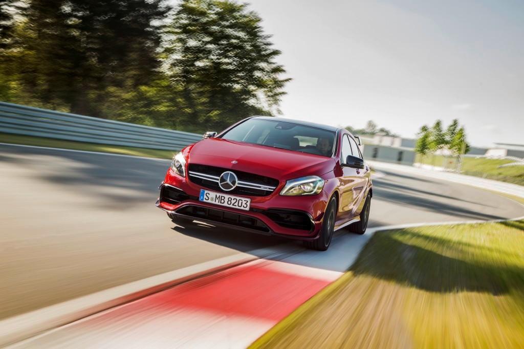 El Mercedes AMG A 35 llegará a finales de año, más de cerca