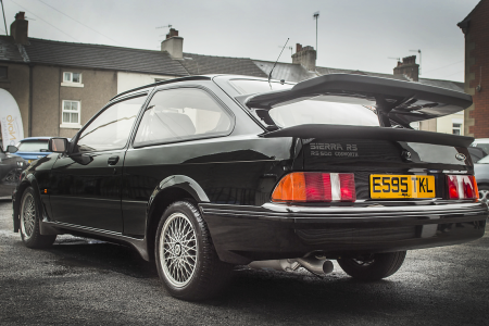 ¿Quieres hacerte con un Ford Sierra Cosworth RS500 con menos de 20.000 kilómetros? Esta es tu oportunidad