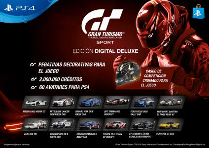 ¡Ya tiene fecha! El nuevo Gran Turismo Sport llegará el 18 de Octubre