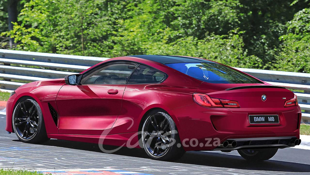 El BMW M8 Coupé tendrá este aspecto... y 600 caballos bajo el capó