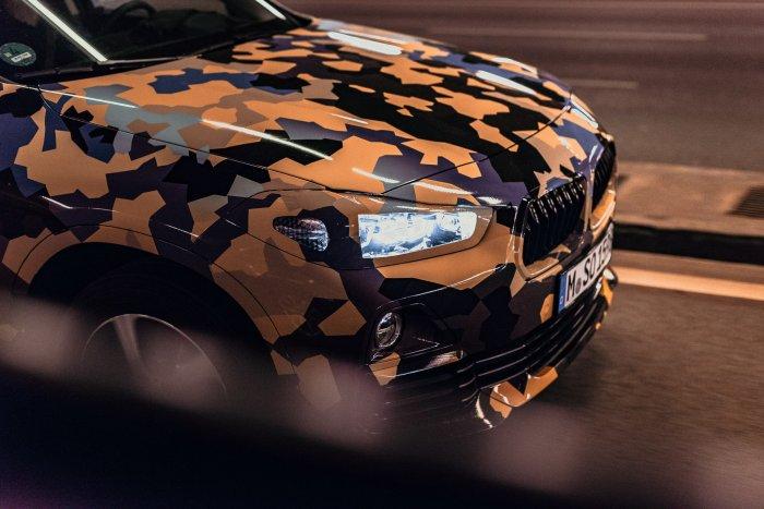 El nuevo BMW X2 se deja ver en su hábitat natural, la ciudad