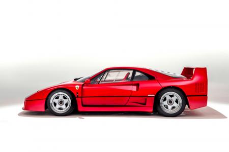 Este Ferrari F40 de 1989 sale a subasta: Harás lo que sea para conseguir el millón de euros que cuesta