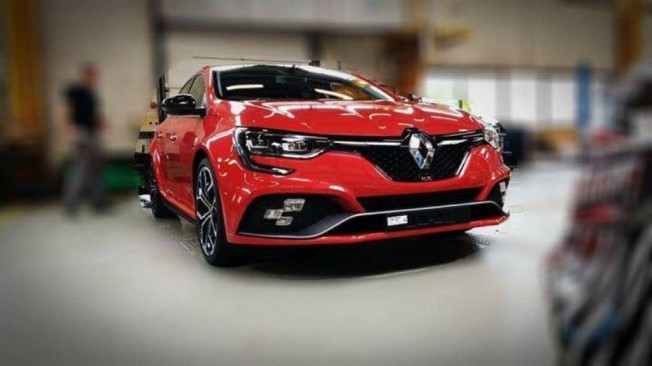 ¡Filtrado! Así es el Renault Mégane RS 2018... un mes antes de su presentación