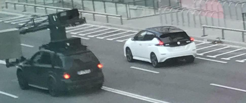 Fotos: La segunda generación del Nissan LEAF, cazada en España durante su rodaje promocional