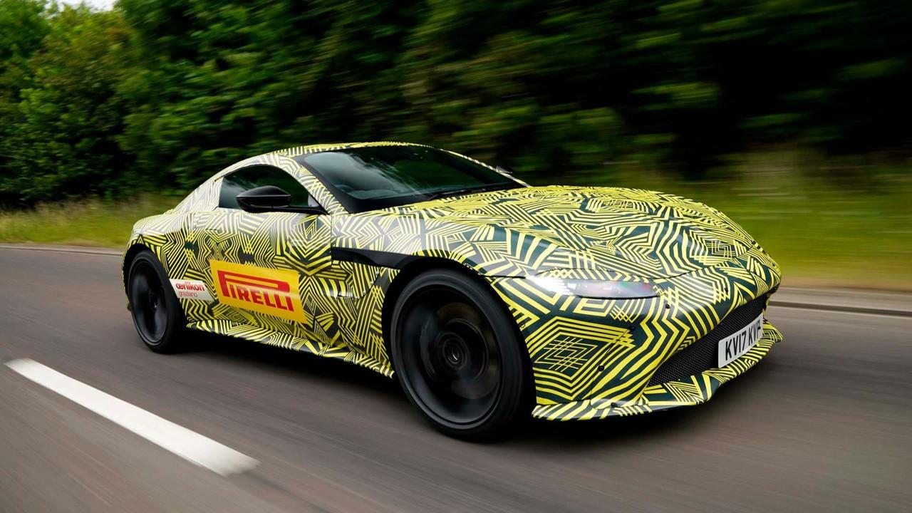El nuevo Aston Martin Vantage ya está a punto, y será brutal