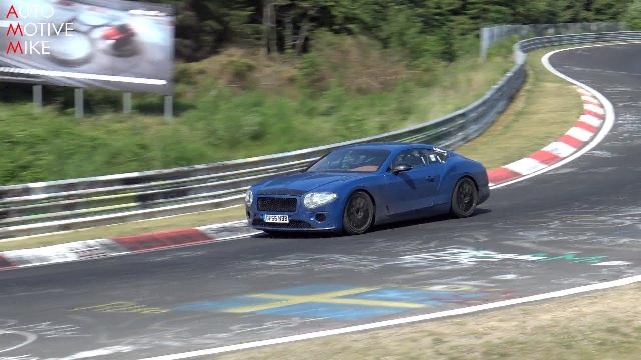 Vídeo: el nuevo Bentley Continental GT se deja ver en el 'Ring, y trae sorpresas