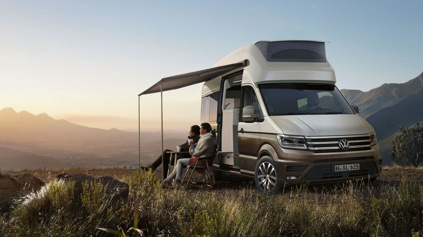Volkswagen California XXL Concept: Con esta casa con ruedas te irías al fin del mundo...