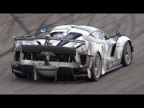 Vídeo: el Ferrari FXX K Evo rueda en Monza