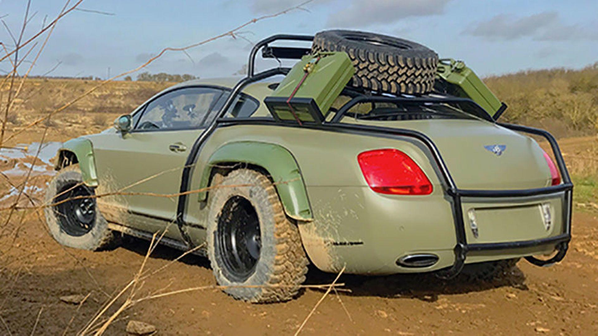 Con este Bentley Continental GT preparado podrás dar la vuelta al mundo sin preocuparte